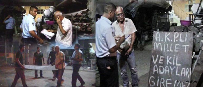 AKP'li Milletvekili Adayları Giremez Yazdı, Cezadan Kaçamadı . . .