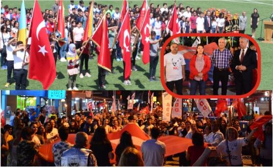 Arsuz'da 19 Mayıs Coşkusu