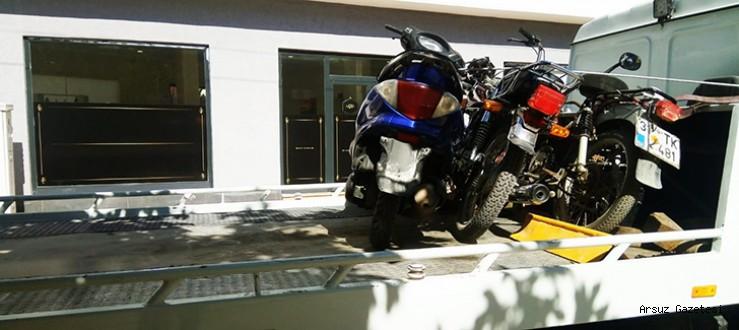 Arsuz'da Egzozu Açık Motosiklet Terörüne Geçit Yok !!!
