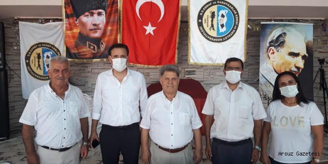 Arsuzda Esnaf Dostu Mehmet Horuz Güven Tazeledi