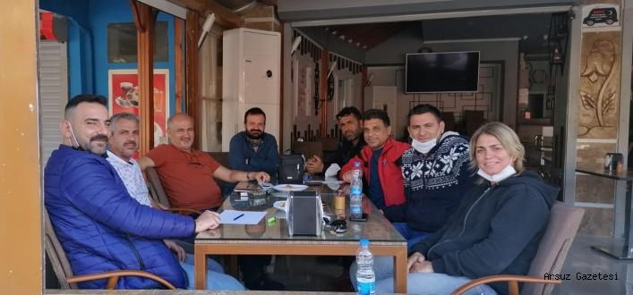 Arsuz'da Kulüpler Birliği Kuruldu