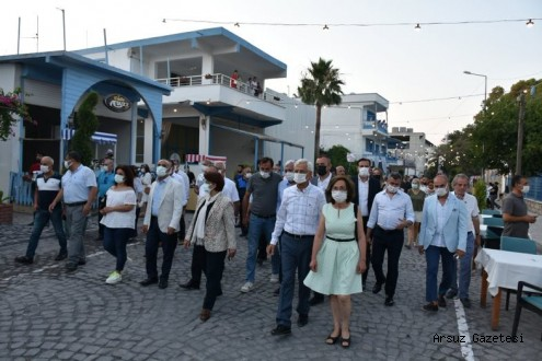 Arsuz'da Tarihi Sokak Yaya Trafiğine Açıldı.