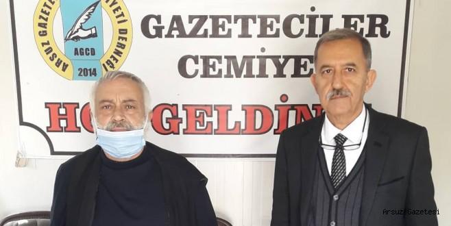 Arsuz Gazeteciler Cemiyeti Yeni Başkanını Seçti.