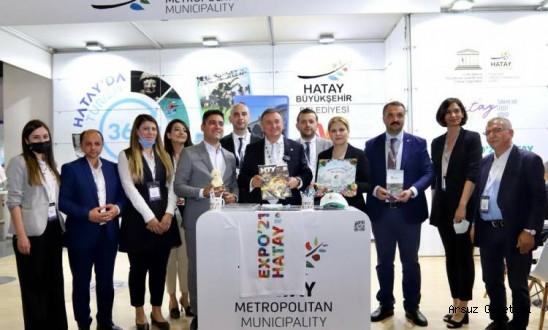 HATAY'IN GÜZELLİKLERİ İSTANBUL'A TAŞINDI