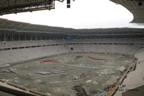 Hataysporun Yeni Stadı İçin 27 Milyon TLlik Ödenek Gönderildi