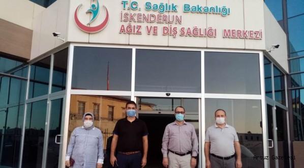 İskenderun'da Korona Virüs Masaya Yatırıldı