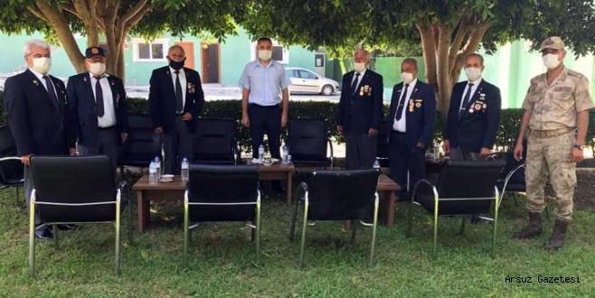 JANDARMAYA TEBRİK ZİYARETİ