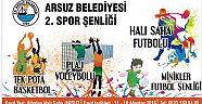 Arsuz'da 2. Spor Şenliği Etkinlikleri Başlıyor
