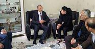 Başkan Culha, İdamı İstenen İşçinin Ailesini Ziyaret Etti